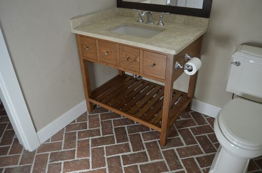Hand Made Bathroom Vanity by Kelsey Fine Woodworking, LLC ...