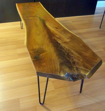 Custom Made Coffee Table - Black Walnut