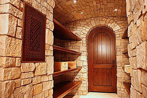 Custom Made Holland Wine Cellar