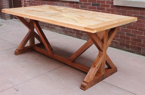 Custom Made Reclaimed Wood Rustic Table