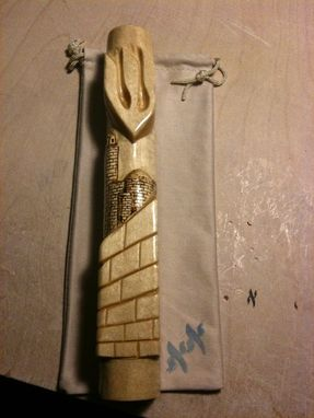 Custom Made Custom Wood Mezuzah