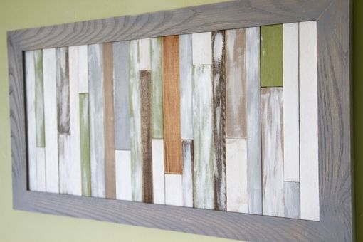 Custom Made Wall Art Sculpture Wooden Rustic Reclaimed