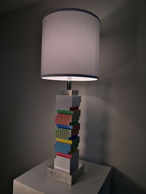 Custom Made Sculpted Totem Lamp