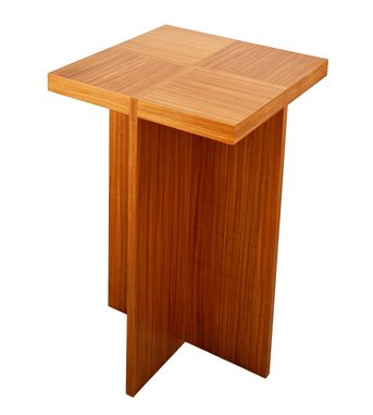 Custom Made Aformosia Veneer Nesting Tables