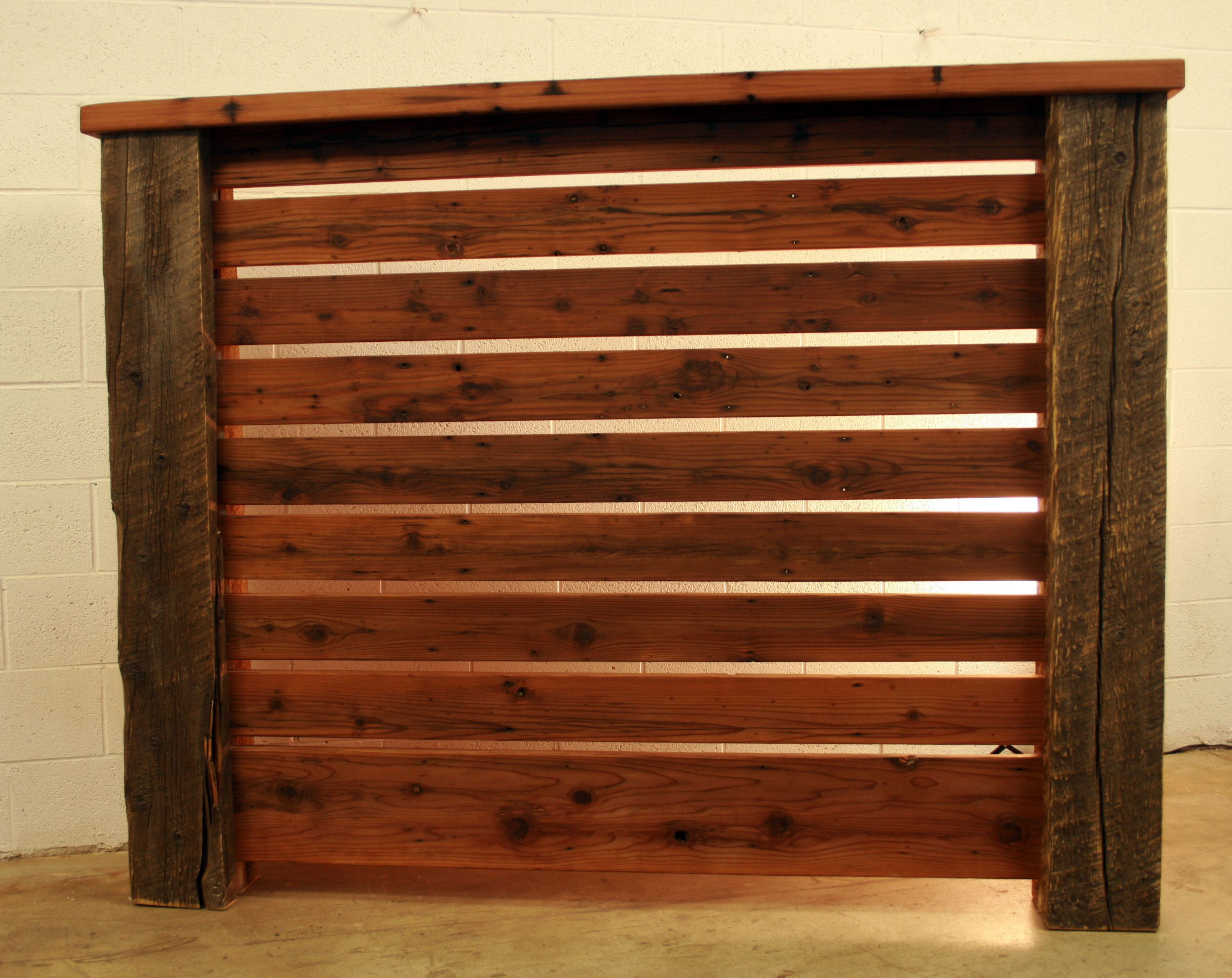 Buy hand crafted queen headboard crafted from reclaimed for Buy reclaimed barn wood
