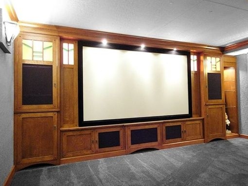 Custom Made Custom Stickley Home Theater