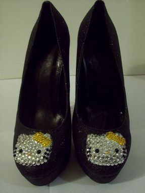 Custom Made Hello Kittens Collection (Hello Kitty Pumps-Yellow)