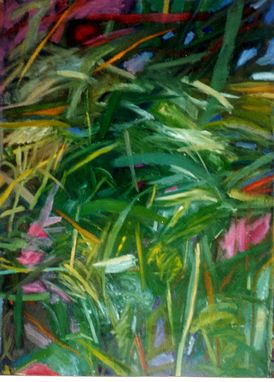Custom Made Painting:  Key West Flora By Maggie Schmidt