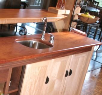 Custom Made Kitchen Island-Bar