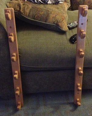 Custom Made Hockey Stick Rack