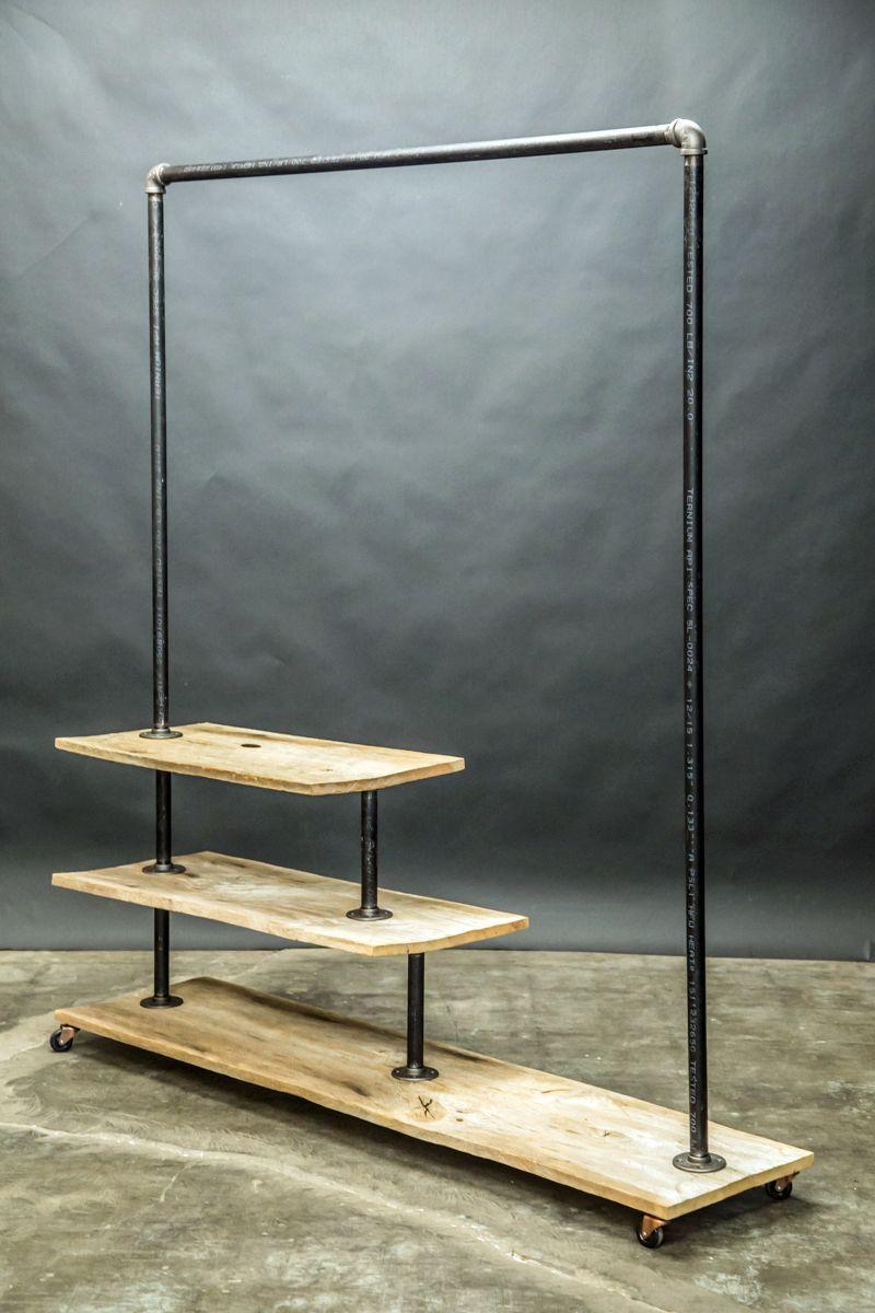 urban rustic furniture. Custom Made Urban Rustic Clothing Rack Furniture