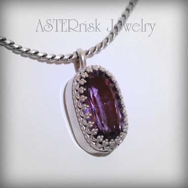 Custom Made Amethyst Necklace