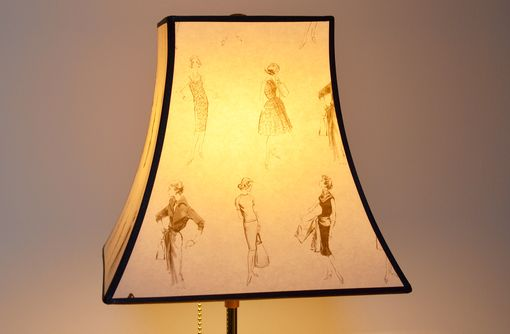 Custom Made Coco Silhouette Small Lampshade