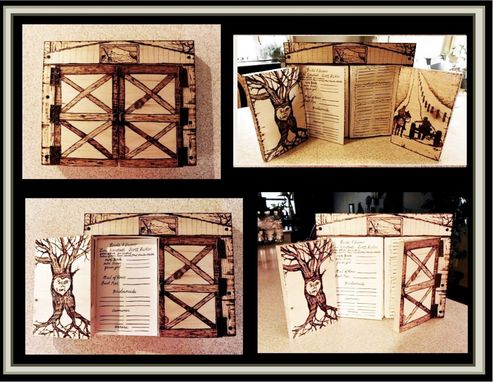 Custom Made Wine Gift, Signs, Rustic Wedding,Wedding Guest Book,Photo Album,Journal,Book, Anniversary Gift,Men