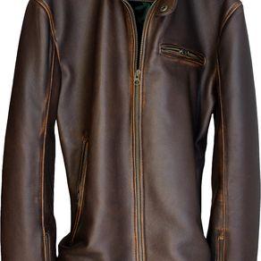 3102715f8ea R79 Leather Jacket Cafe Racer Vintage Fit In Brown Or Distressed Brown  Regular Or Custom-Made