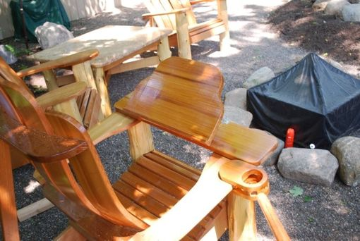 Custom Made Custom Adirondack Style Chair Accessories