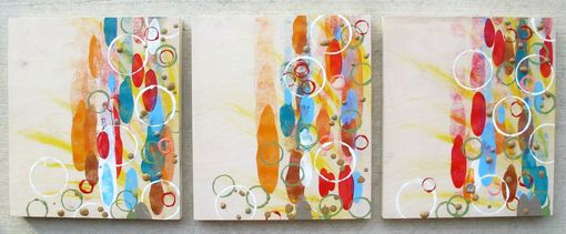 Custom Made 'Rising Color'...Triptych