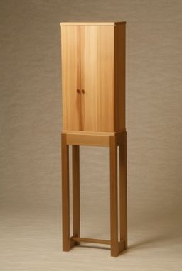 Custom Made Cedar Tall Cabinet