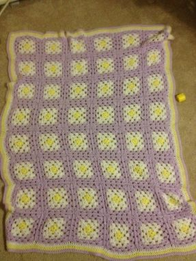 Custom Made Crochet Blanket 6