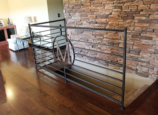 Custom Made Modern Western Railing