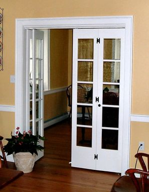 Custom Made French Doors.