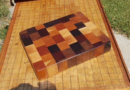 Custom Made End Grain Butcher Block Cutting Board