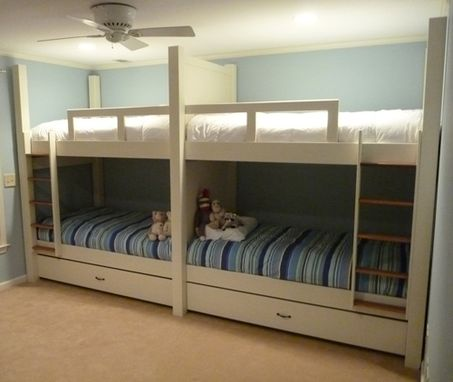 Custom Made Quad Bunk Bed