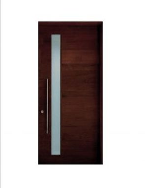 Custom Made Contemporary Modern European Style Entry Door
