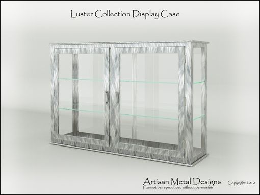 Custom Made Modern Display Case / Trophy Case