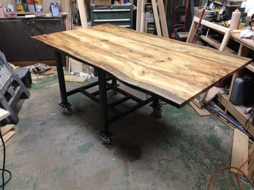 Custom Made Beautiful Live Edge Table