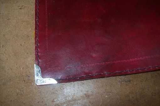 Custom Made Leather Chief Charge Book