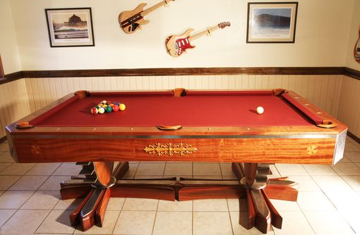 Custom Made Contemporary Pool Table,