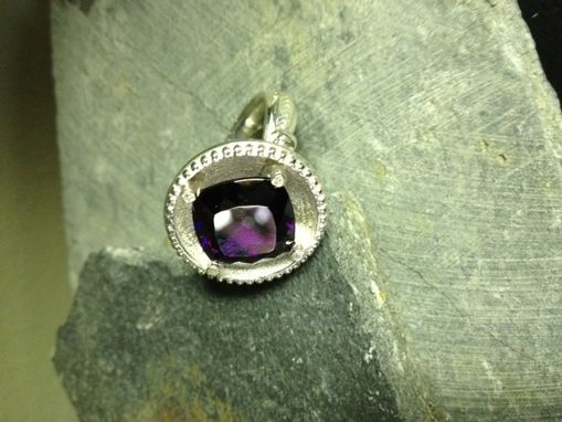 Custom Made Sterling Silver Gemstone Ring