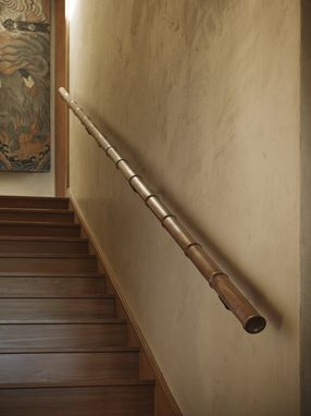 "Custom Made ""Bamboo"" Handrail"