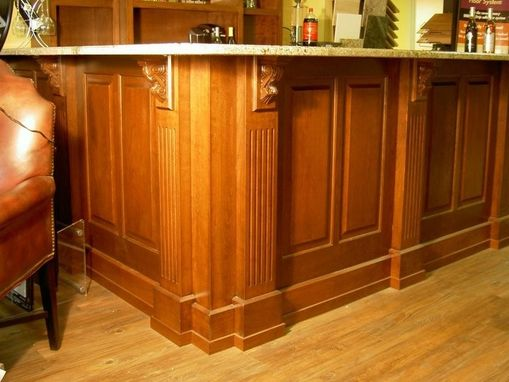 Custom Made Commercial Stage Bar