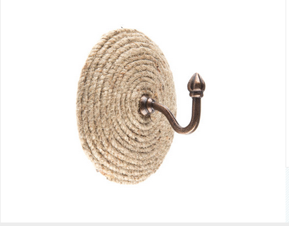 Custom Made Round Jute Hook