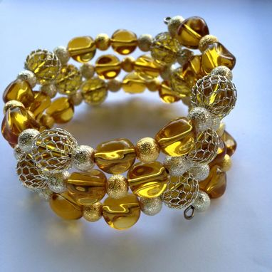 Custom Made Golden Bliss Bracelet