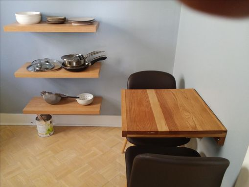 Custom Made Collapsible Dinette Table