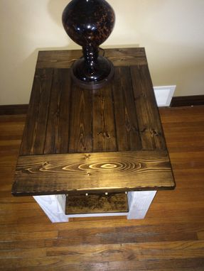 Custom Made Custom Made Rustic End Table