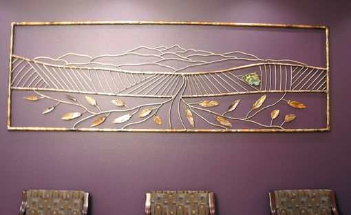 Custom Made Wall Sculpture - Central Valley
