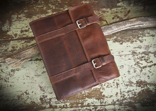 Custom Made Custom Bison Leather Book Cover Or Bible Cover