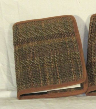 Custom Made Hand Woven Grasscloth Covered Journal