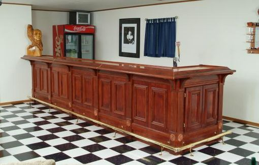 Custom Made Cherry Wet Bar