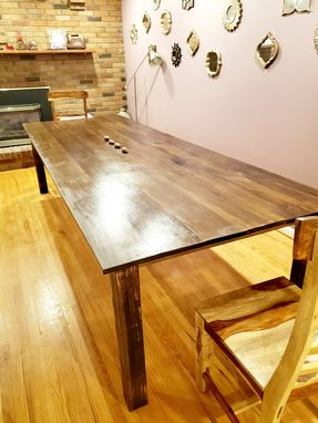 Custom Made 10' Custom Made Large Farm House Dining Table