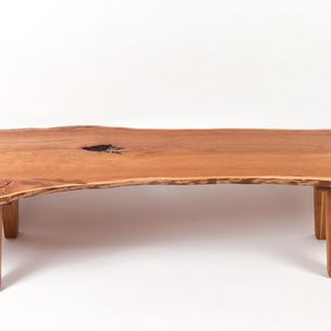 outerlands gallery metal wood furniture. Live Edge Vermont Cherry Coffee Table By Outerlands Gallery Metal Wood Furniture