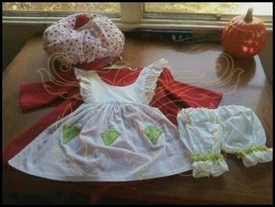 Custom Made 80'S Strawberry Shortcake