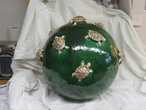 Custom Made Green Turtle Orb