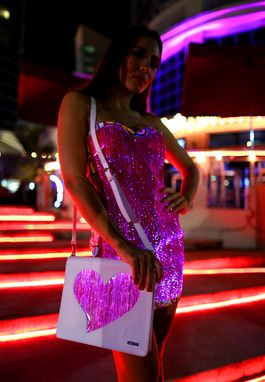 Custom Made Light Up Sexy Dress