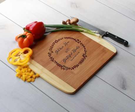Custom Made Personalized Cutting Board, Engraved Cutting Board, Custom Wedding Gift – Cb-Bam-Schmidt