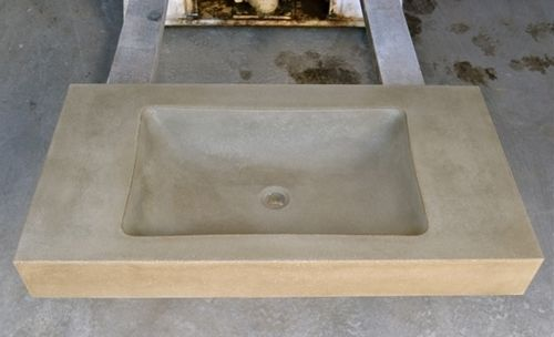 Custom Made Concrete Vanity Top